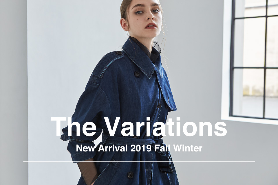 The Variations New Arrival 2019 Fall Winter